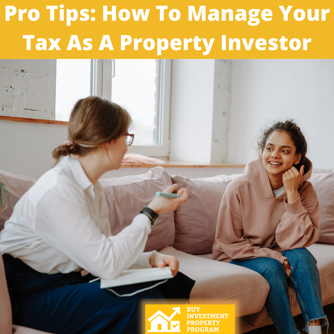 Pro Tips How To Manage Your Tax As A Property Investor - Feature Image